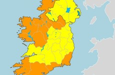 Storm Francis: Status Orange alert for 12 counties as 'intense rainfall' expected tonight