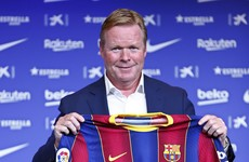 Cruyff inspiration for new Barca boss Koeman