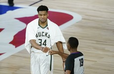 Reigning MVP stars as Bucks hold off Magic for 3-1 NBA series lead