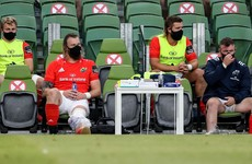 Munster confirm major injury setback as South African Snyman tears cruciate