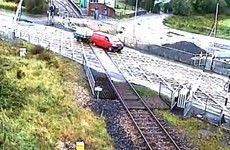 Garda probe launched after van smashes through level crossing barrier in Co Roscommon