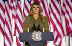 'You are not alone': Melania Trump says president will not stop until Covid-19 vaccine is found