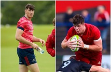 Munster back promising academy locks after 'devastating' RG Snyman injury