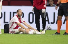 Daley Blind reassures fans that he's 'okay' after collapsing on the pitch