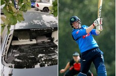 Ireland legend Kevin O'Brien smashes 8 sixes - and his own car window - in Lightning win