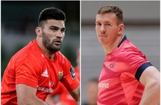 Munster seek balance with exciting centre pairing Farrell and de Allende