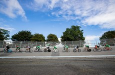 Elite Irish cyclists are back on track today