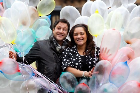 X Factor winner Matt Cardle won't be there though (and hopefully the condoms won't be blown up). This is just a file photo.