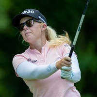 Meadow one shot off lead after first round in Arkansas while Maguire on even par