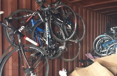 Man arrested over theft of 116 bicycles worth around €250k