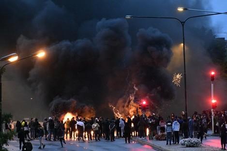 Scenes of violence in Sweden