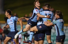 Waratahs keep Super Rugby hopes alive after edging out Rebels in nine-try thriller