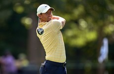 McIlroy three shots behind in Chicago but ready to leave tournament if wife goes into labour