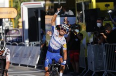 Emotional Alaphilippe dedicates TDF stage win to his father's memory