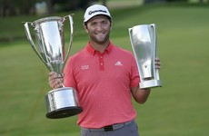 Rahm sinks sensational putt to win BMW Championship after epic battle with Johnson
