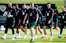 Ireland players cleared for Sofia after returning negative test results