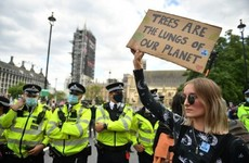 Several arrests at Extinction Rebellion protests in London