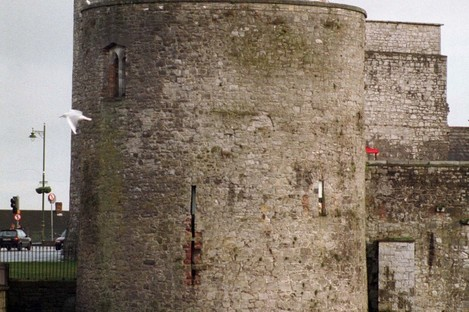 King Johns Castle, in Limerick City