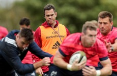 Munster set for minimal changes with Van Graan backing settled starting XV