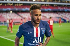 Neymar reported to be one of three PSG players to test positive for Covid-19