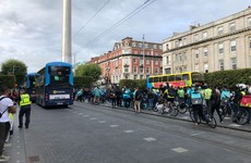Crowds gather for vigil in memory of delivery cyclist killed in Dublin hit-and-run