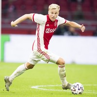 Man United sign Dutch midfielder Van de Beek for a reported €40m