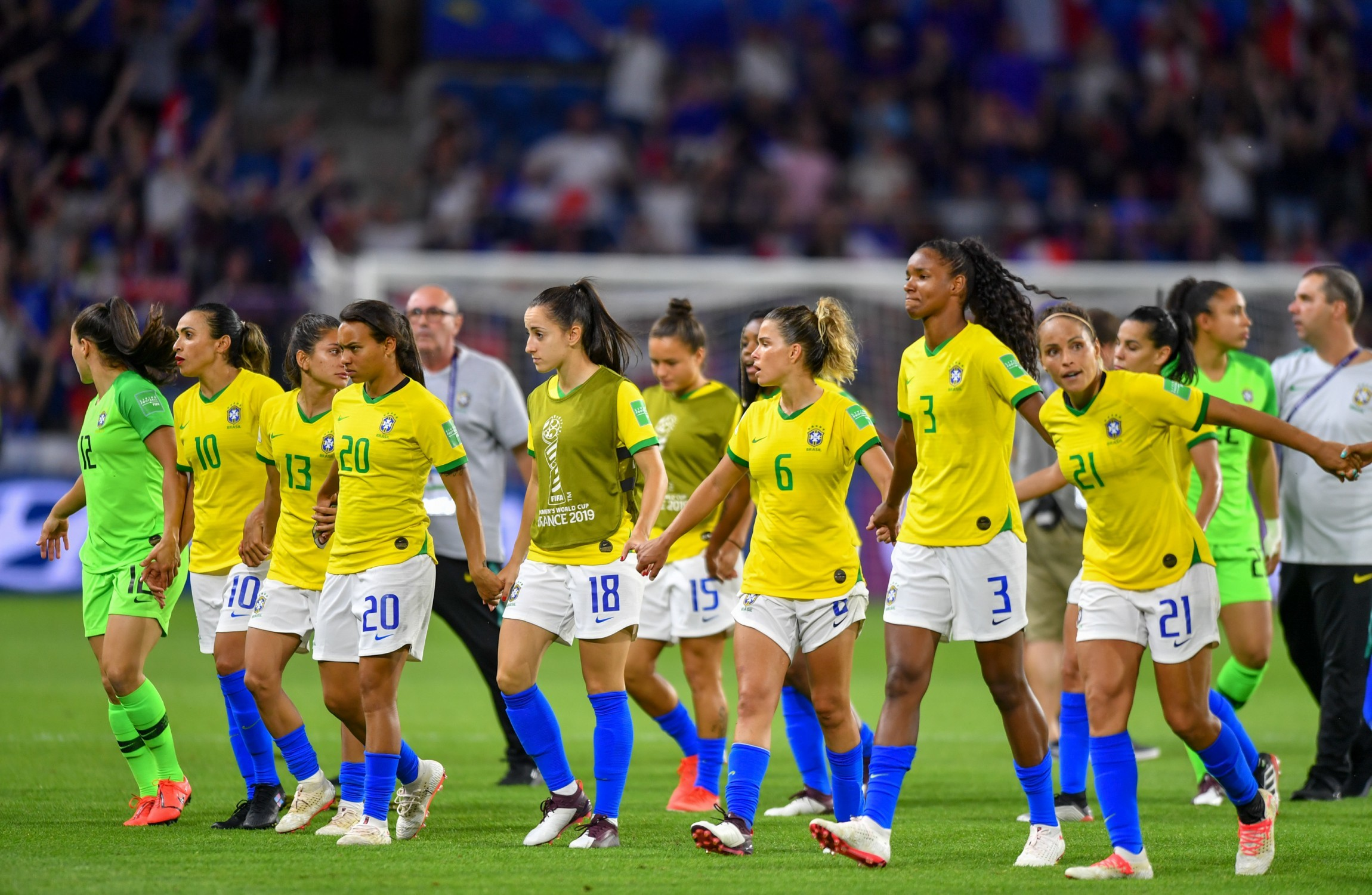 Brazil's football federation announces equal pay for women and men