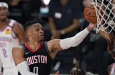James Harden and Russell Westbrook help Houston seal series against Oklahoma