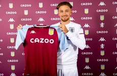 Aston Villa bring in English full-back Cash for €18m
