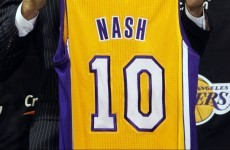 Steve Nash chooses No. 10 jersey in tribute to Glenn Hoddle and Zinedine Zidane