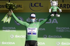 Bennett retains green jersey as Roche named most aggressive rider on Stage 6 of Le Tour