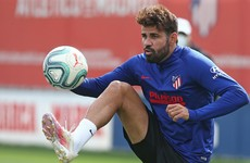 Diego Costa tests positive for Covid-19 during summer holidays