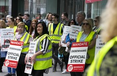 Mandate says Debenhams deal close after months of protests while liquidator says 'progress being made'