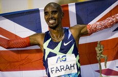 Mo Farah breaks one hour run world record
