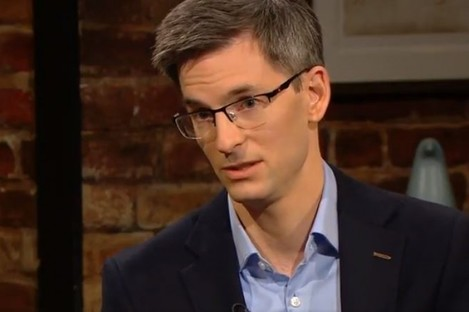 Dr Ronan Glynn speaking on the Late Late Show last night.
