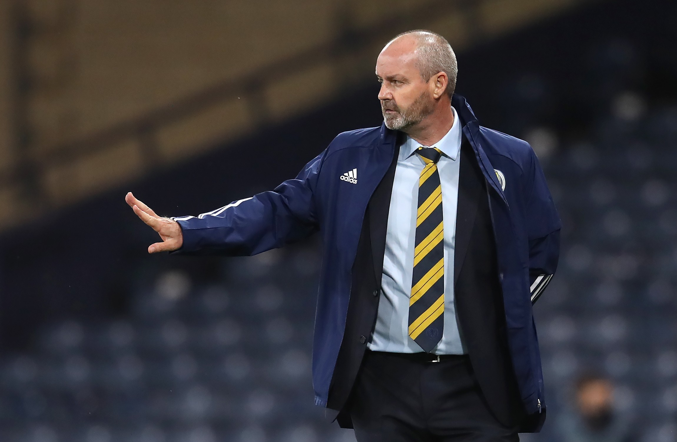 Steve Clarke's team are set to have a free evening on Monday.                     Image PA