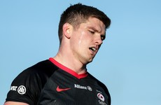 Owen Farrell a major doubt for Leinster game after red card for high tackle
