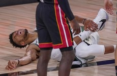 Bucks lose Giannis to injury but stay alive in NBA playoffs