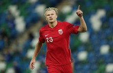 Haaland brace helps Norway hammer Northern Ireland
