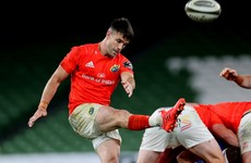 Murray to have scan on thigh injury sustained in Munster's defeat to Leinster