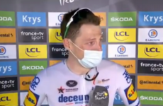 'Sorry, I don't mean to be a cry baby' - Bennett's emotional interview after Tour de France stage win