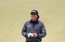 Scottish Open: Mickelson drives his way into contention with 64