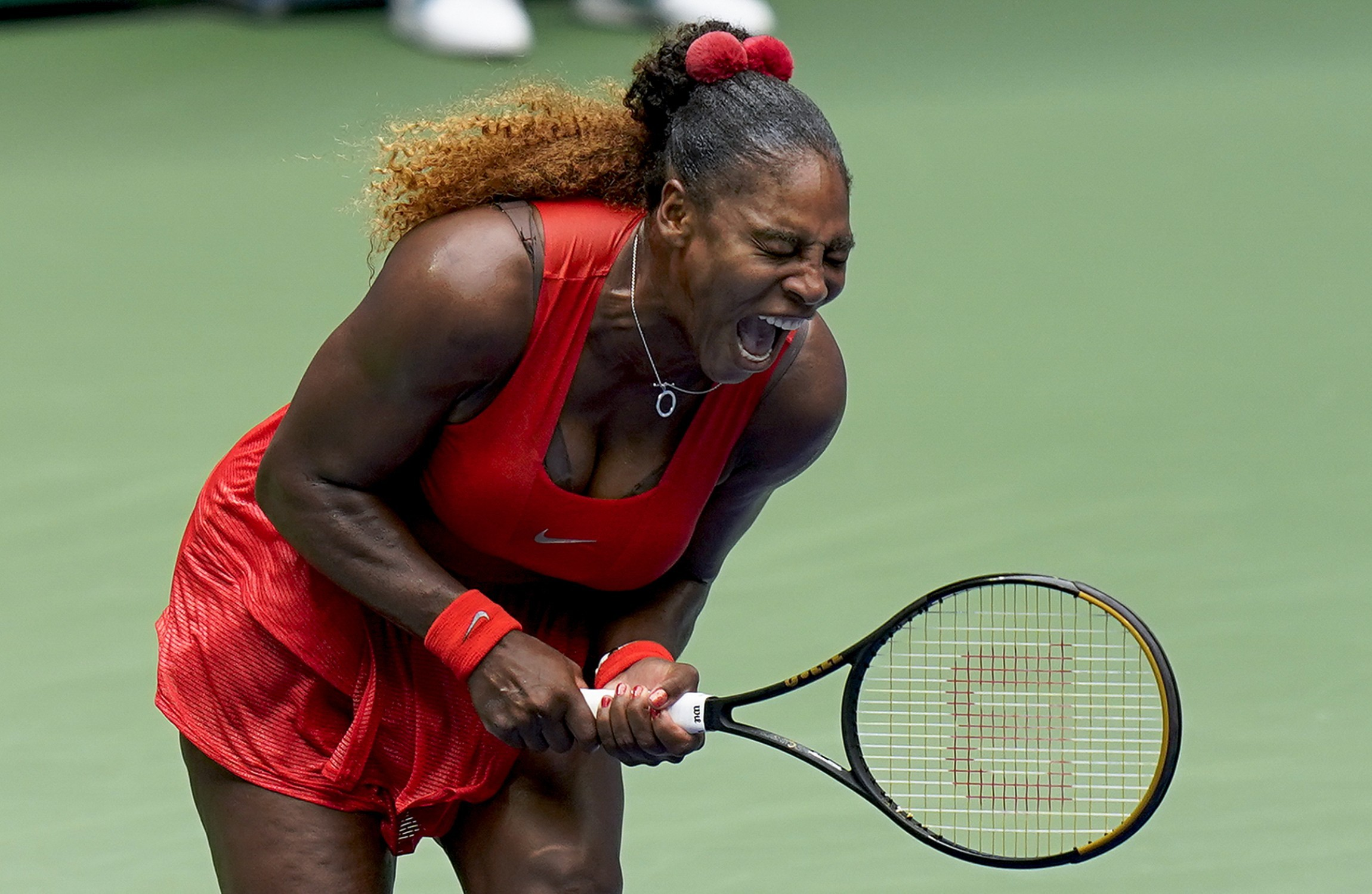US Open: Azarenka clobbers Mertens to set up Serena showdown in semis