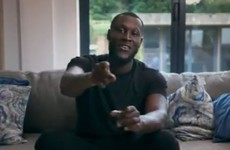 'I wanted to show it to you guys first': UK rapper Stormzy premiered his new video in a Dublin school today