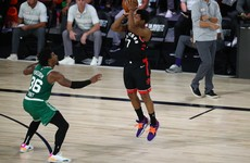 Kyle Lowry gets 'tough' as Toronto Raptors level series with Boston Celtics