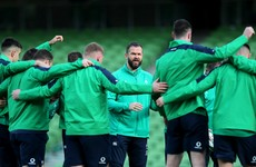 Exciting autumn for Farrell's Ireland as Fiji and Georgia get a welcome invitation
