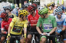 Bennett maintains healthy lead in green jersey, Roche takes top-10 finish in stage 12