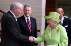 Greeting from McCrea shows how far we've come - McGuinness