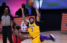 Rockets defused as Davis leads Lakers to 3-1 lead