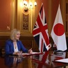 The UK has announced it has agreed a 'historic' trade deal... with Japan